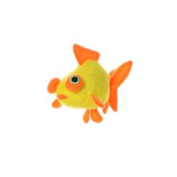 Orange Animal Friends Wind up Bubble Blower Fish